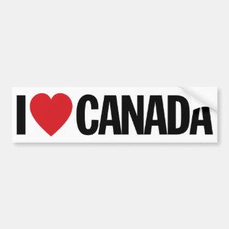 "I Love Heart Canada 11"" 28cm Vinyl Decal"