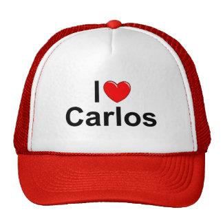 I Love Heart Carlos Mesh Hat