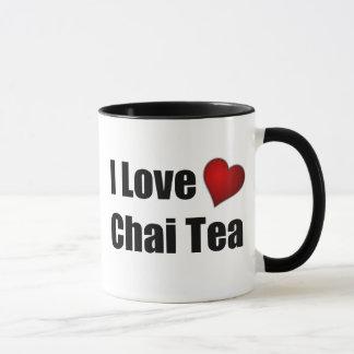 I Love (heart) Chai Tea - Customizable Tea Mug