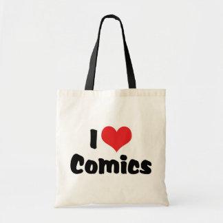 I Love Heart Comics - Comic Book Lover