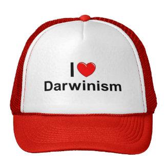 I Love (Heart) Darwinism Cap