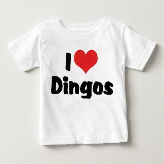 I Love Heart Dingos T-shirts