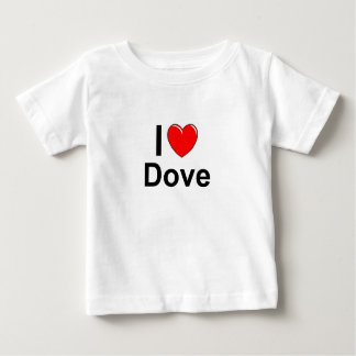 I Love Heart Dove Baby T-Shirt