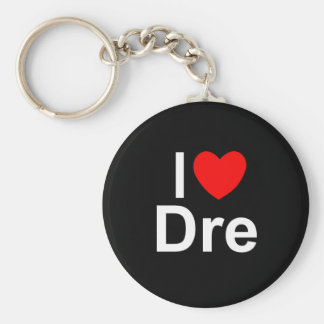 I Love (Heart) Dre Key Ring