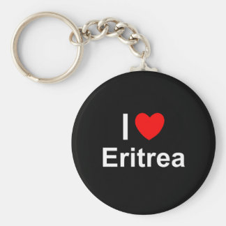 I Love Heart Eritrea Key Ring