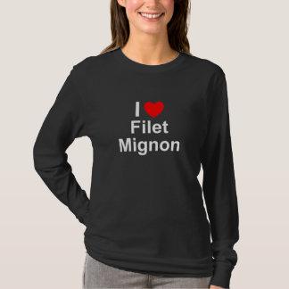I Love Heart Filet Mignon T-Shirt