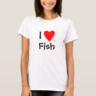 I Love (Heart) Fish T-Shirt