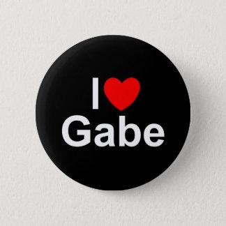 I Love (Heart) Gabe 6 Cm Round Badge