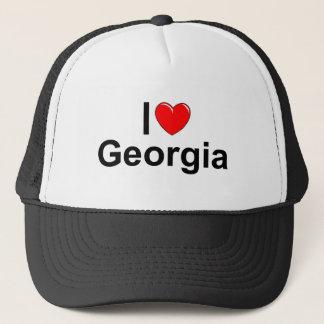 I Love (Heart) Georgia Trucker Hat
