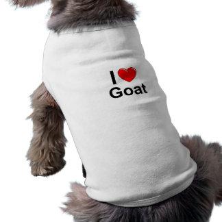 I Love Heart Goat Shirt
