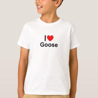 I Love Heart Goose T-Shirt