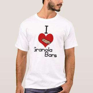 I love-heart granola bars T-Shirt