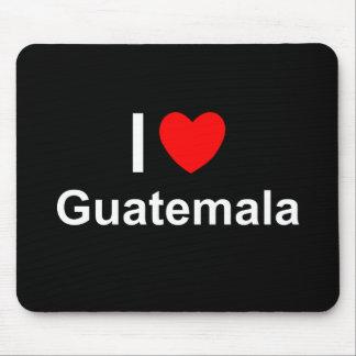 I Love Heart Guatemala Mouse Pad