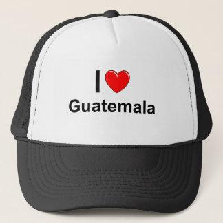 I Love Heart Guatemala Trucker Hat