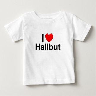 I Love Heart Halibut Baby T-Shirt