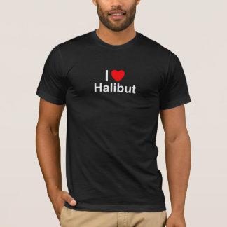 I Love Heart Halibut T-Shirt