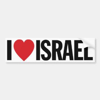 "I Love Heart Israel 11"" 28cm Vinyl Decal"