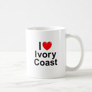 I Love Heart Ivory Coast Coffee Mug