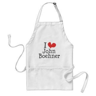 I Love (heart) John Boehner Standard Apron