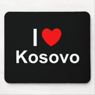 I Love Heart Kosovo Mouse Pad