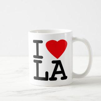 I Love Heart LA Coffee Mug