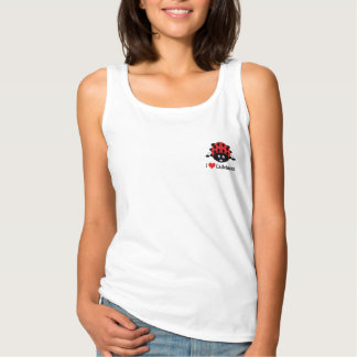 I Love (Heart) Ladybugs Tank Top for Women