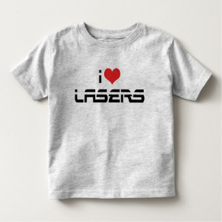 I Love Heart Lasers - Science & Technology Lovers T Shirt