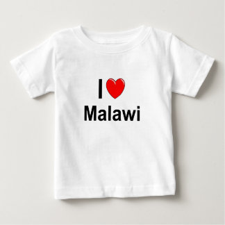 I Love Heart Malawi Baby T-Shirt