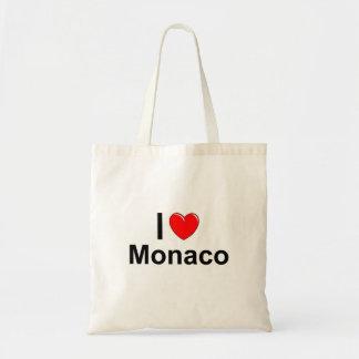 I Love Heart Monaco Tote Bag