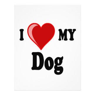 I Love (Heart) My Dog Flyer