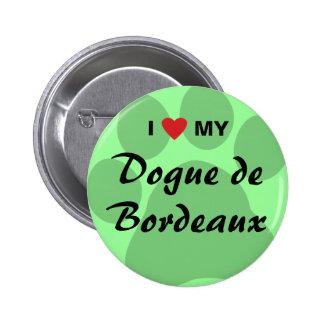 I Love Heart My Dogue de Bordeaux Pin
