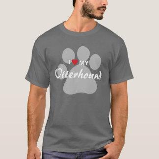 I Love (Heart) My Otterhound T-Shirt