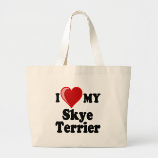 I Love (Heart) My Skye Terrier Dog Bag