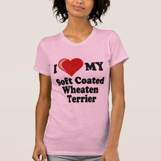 I Love (Heart) My Soft Coated Wheaten Terrier Dog T-Shirt