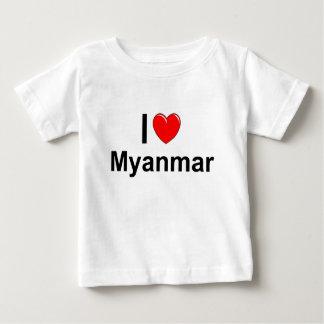 I Love Heart Myanmar Baby T-Shirt