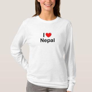 I Love Heart Nepal T-Shirt