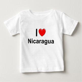 I Love Heart Nicaragua Baby T-Shirt