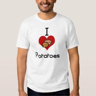 I love-heart potato shirt