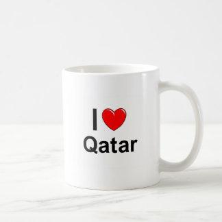 I Love Heart Qatar Coffee Mug