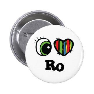 I Love Heart Ro Pin