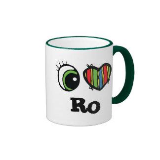 I Love (Heart) Ro Mugs