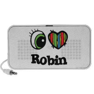 I Love (Heart) Robin Travelling Speaker