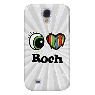 I Love (Heart) Roch Galaxy S4 Cases