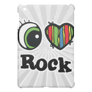 I Love (Heart) Rock iPad Mini Cover