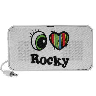 I Love (Heart) Rocky Speaker