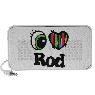 I Love (Heart) Rod Mini Speakers