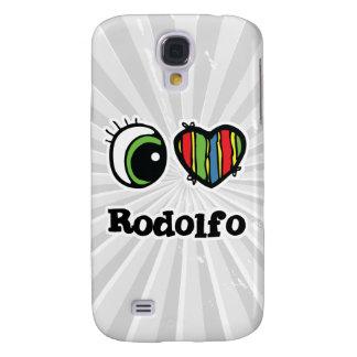 I Love (Heart) Rodolfo Samsung Galaxy S4 Cover