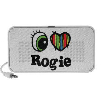 I Love (Heart) Rogie Laptop Speakers