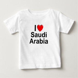 I Love Heart Saudi Arabia Baby T-Shirt