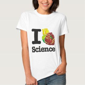 I Love Heart Science T-shirt